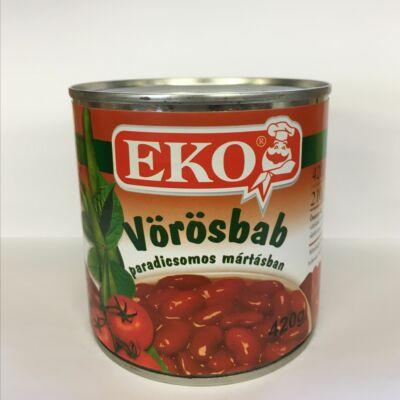 Vörösbab paradicsomos mártásban 420g